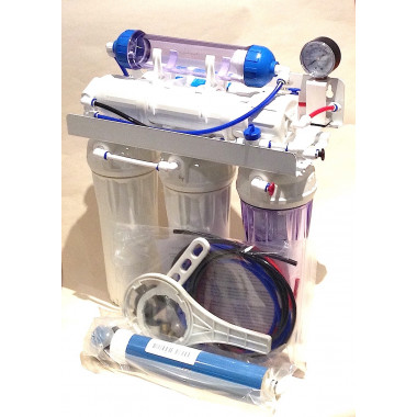 6 Stage Reverse Osmosis System with DI