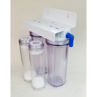 Double Fluidised Bed Filter Reactor with 19mm tails Aquarium filtration