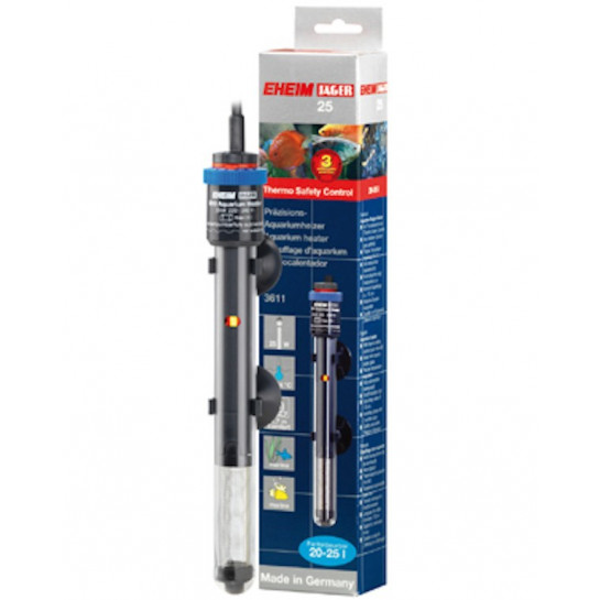 Eheim thermocontrol precision 25 watt aquarium heater