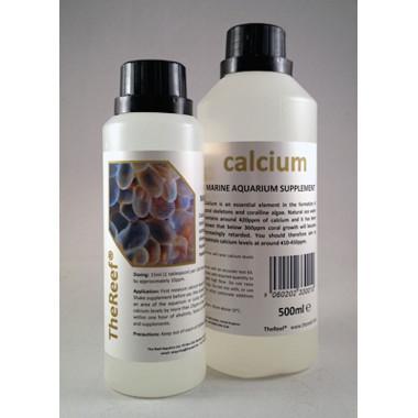 Calcium is a concentrated liquid calcium supplement for marine aquaria 500ml