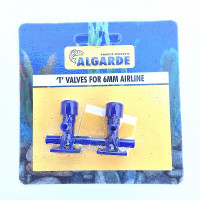 Algarde 'T' Valve for Aquarium Airline Pack of 2
