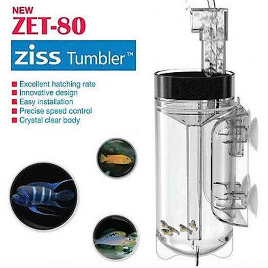 ZET-80 Fish Egg Incubator / Tumbler Aquarium fish hatchery, Cichlid, Banggai cardinal