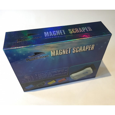 Bubble Magus Magnetic Aquarium Cleaner / Scraper with XL Metal & Plastic Blades