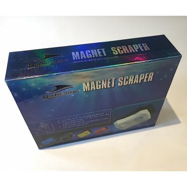 Bubble Magus Large Magnetic Aquarium Cleaner / Scraper with Metal & Plastic Blades