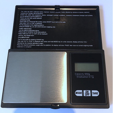 Micro Balance / Scales 0.1g / 650g Capacity, Aquarium, Treatments, Probiotics