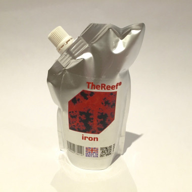 Iron is a concentrated liquid iron supplement for marine aquaria 500ml