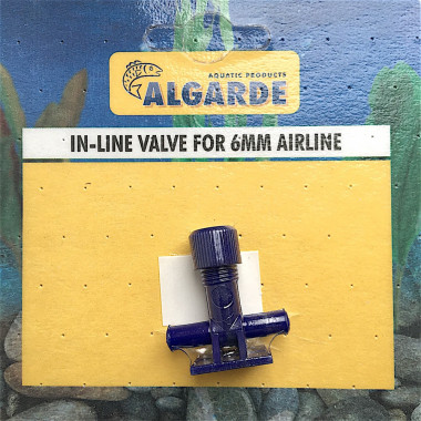 Algarde In-Line Valve 6mm