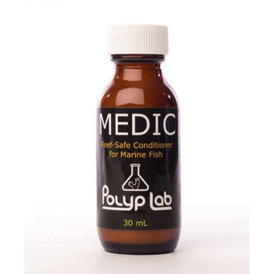 Polyp lab medic 30ml fish treatment reef safe white spot for Fish ick treatment