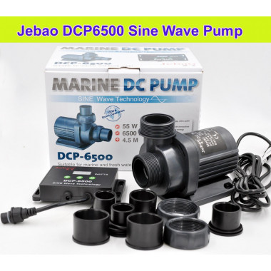 The all new Jecod / Jebao DCP-6500 pump upgrade to the DCS, DCT ranges