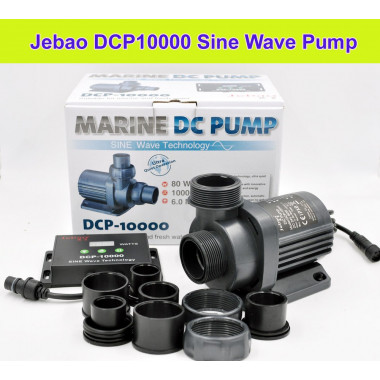 The all new Jecod / Jebao DCP-10000 pump upgrade to the DCS, DCT ranges
