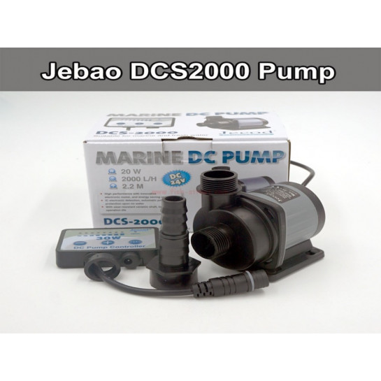 Jecod / Jebao DCS 2000 DC Pump next generation to DCT. Aquarium, reef, fresh water.