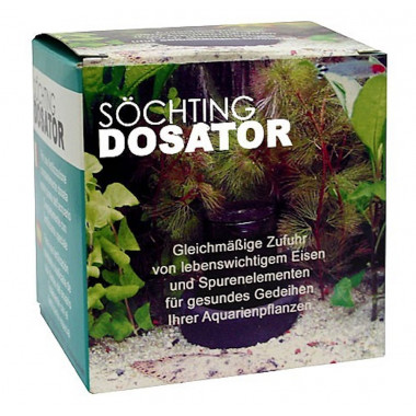 Planted aquarium fertiliser doser.
