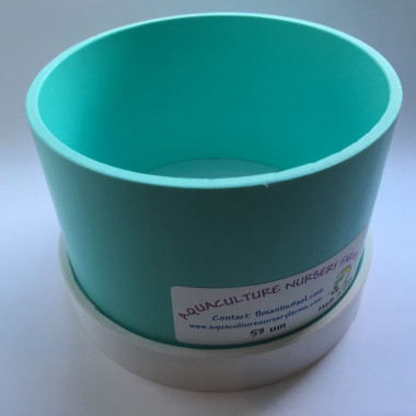 "4"" Stackable Plankton Collector Sieve available in 53, 120, 250 µm copepod rotifer"