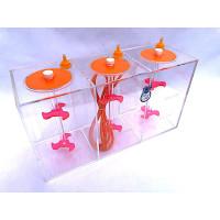 Aquarium Dosing 3 Chamber Liquid Container 4.5 L. 1500ML in each