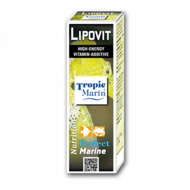 Tropic Marin Lipovit 50ml Vitamin Boost High Energy Aquarium Marine Fish Tank