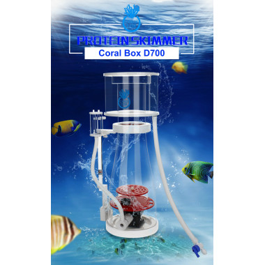 Coral Box D700 DC Protein Skimmer with Jebao DCS Pump for systems up to 1200 L