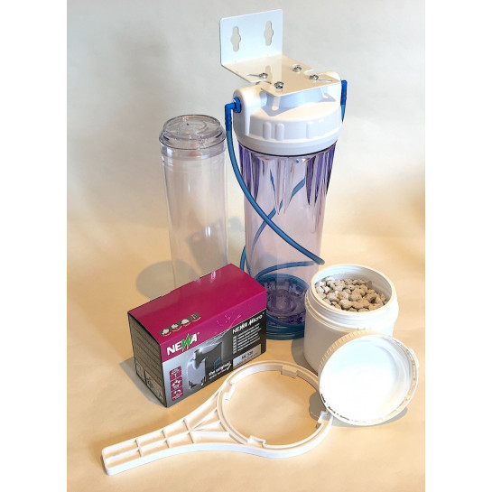 Nitrate Filter Reactor Kit Including Media Pump