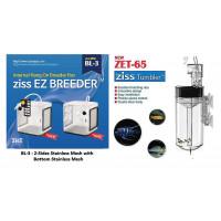 ZET-65 Fish Egg Tumbler+ BL-3A Ziss EZ 2.4L Breeding Box Fry Trap Pleco Cichlid