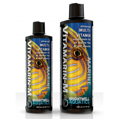 Brightwell Vitamarin-M Marine Fish Vitamin Supplement Fish & Reef Aquaria