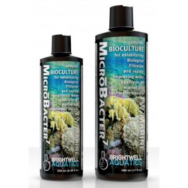 Brightwell MicroBacter 7 Fresh Water & Marine Aquarium Live Filter Bacteria