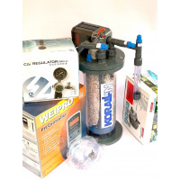 Calcium Reactor Kit inc: C1501 Korallin reactor for systems up to 1500 litres, PH controller, CO2 Regulator