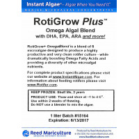RotiGrow Plus™ Rotifer & Brine Shrimp Feed / Enrichment Phytoplankton 1000ml