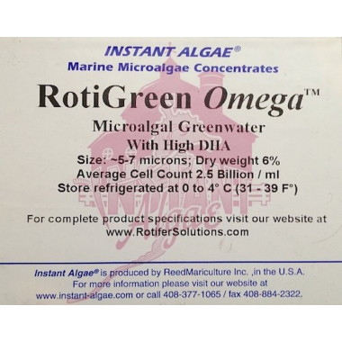 RotiGreen omega Rotifer & Brine Shrimp Concentrated Feed / Enrichment 1000ml pack
