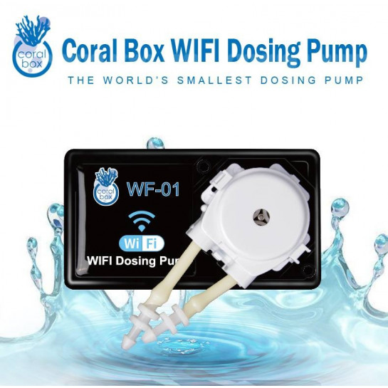 Coral Box WF-01 WIFI single Chanel Dosing Pump