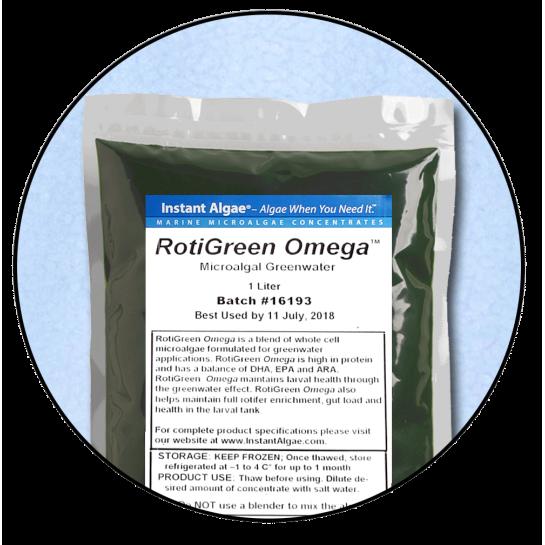 RotiGreen omega Rotifer & Brine Shrimp Concentrated Feed / Enrichment 1000ml pack