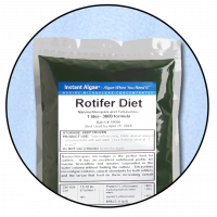 Rotifer Diet. Rotifer & Brine Shrimp Concentrated Feed / Enrichment Phyto