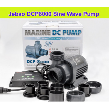 The all new Jecod / Jebao DCP-8000 pump upgrade to the DCS, DCT ranges