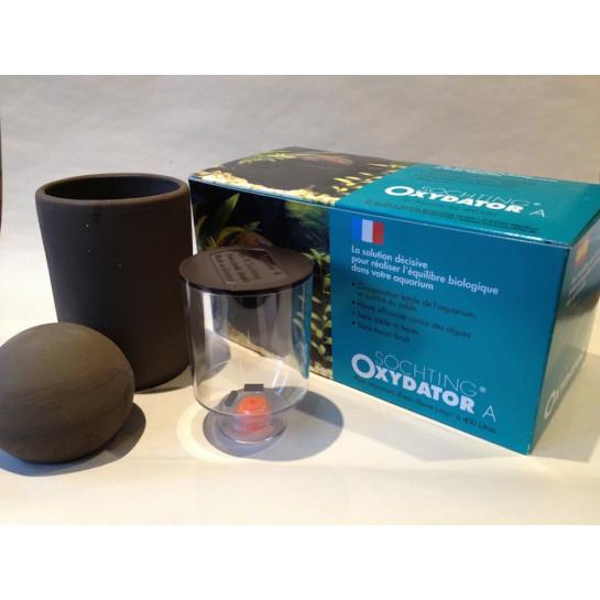 Oxydator A increase O2 in aquariums used in fish breeding, reef tanks