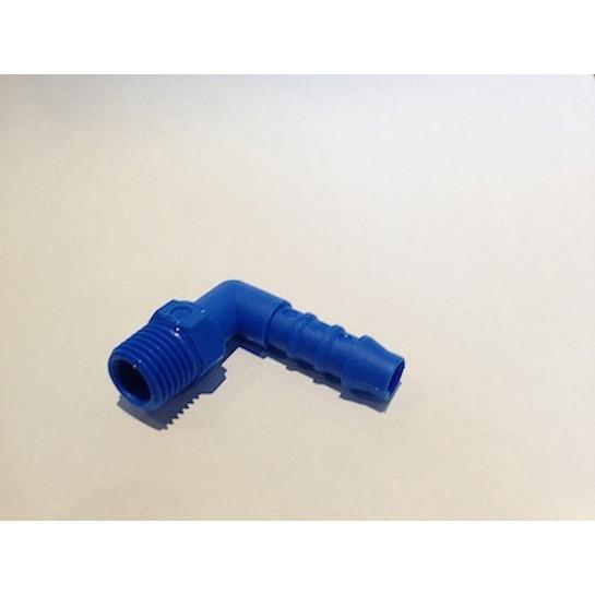 90° elbow 1/4 BSP-8mm