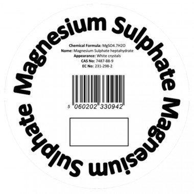 Magnesium Sulphate Aquarium Chemical Salt Suppliment