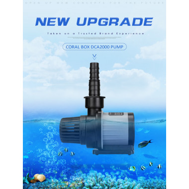 Coral Box DCA 2000 DC Aquarium Water Level Pump Manufactured Exclusively by Jebao
