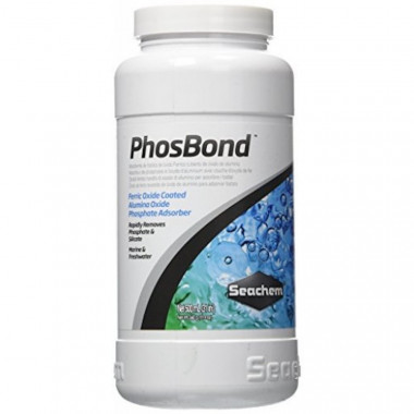 PhosBond: Removes phosphate & silicate in aquariums