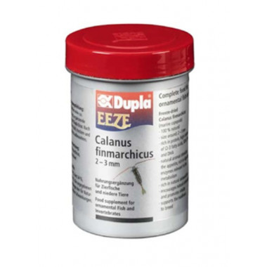 DUPLA EEZE 20g Freeze-dried Calanus finmarchicus (marine copepods) fish feed