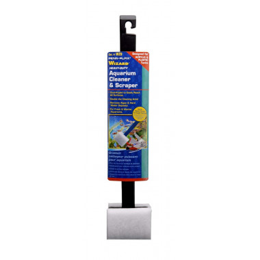 Penn Plax Algae Remover Scraper 45cm Heavy Duty Cleaner ACRYLIC/GLASS Aquarium Fish Tank