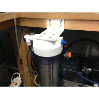 Nitrate filter / reactor including PH buffer for marine aquariums up to 440 litres