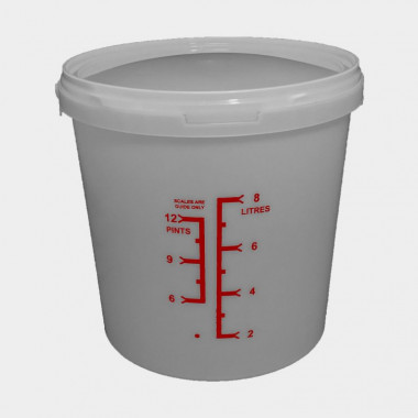 9 litre Copepod culture vessel including starter culture and algal feed