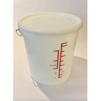 24 litre Copepod and Rotifer culture vessel