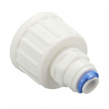 "3/4 BSP Tap Connector for 1/4"" reverse osmosis tube"