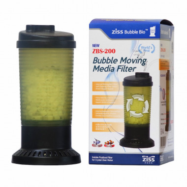 NEW ZBS-200 Air Driven Aquarium Biological Filter inc micro media similar to K1