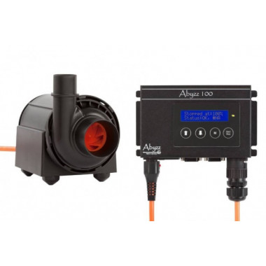 Abyzz A100 aquarium pump Maximum rated flow - 8500l/hr