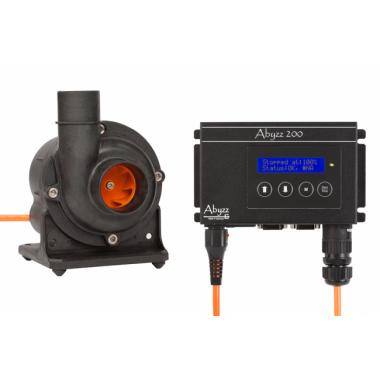 Abyzz A200 aquarium pump Maximum rated flow - 8500l/hr