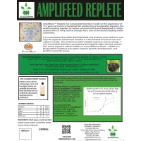 Amplifeed™ Replete Complete Professional Rotifer and Artemia Feed 50g