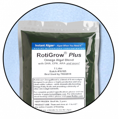 RotiGrow Plus Rotifer & Brine Shrimp Feed / Enrichment Phytoplankton, Phyto