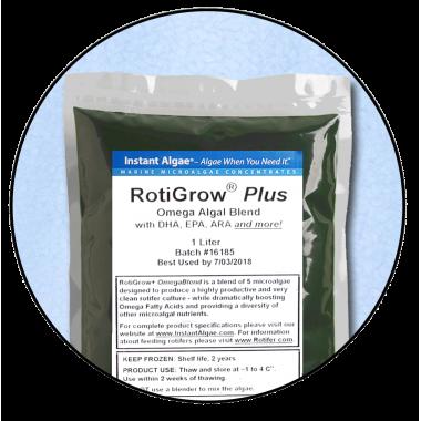 RotiGrow Plus Rotifer & Brine Shrimp Feed / Enrichment Phytoplankton, Phyto