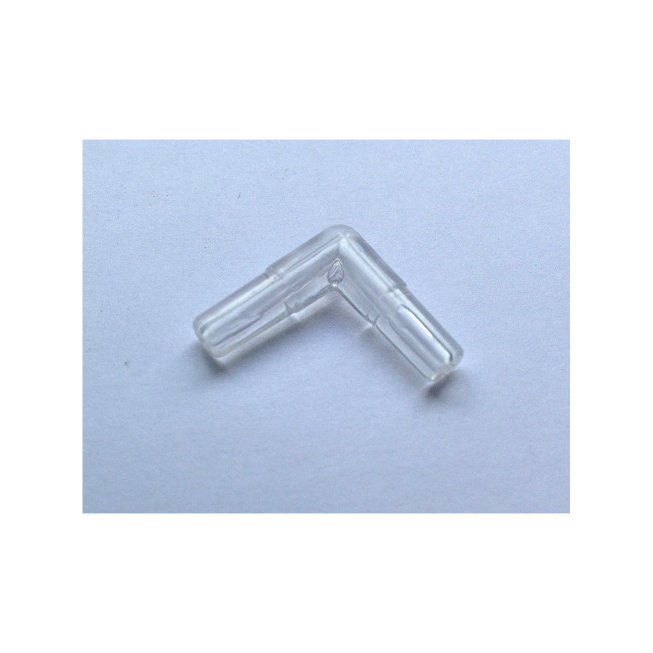 Plastic transparent aquarium elbow connector air line