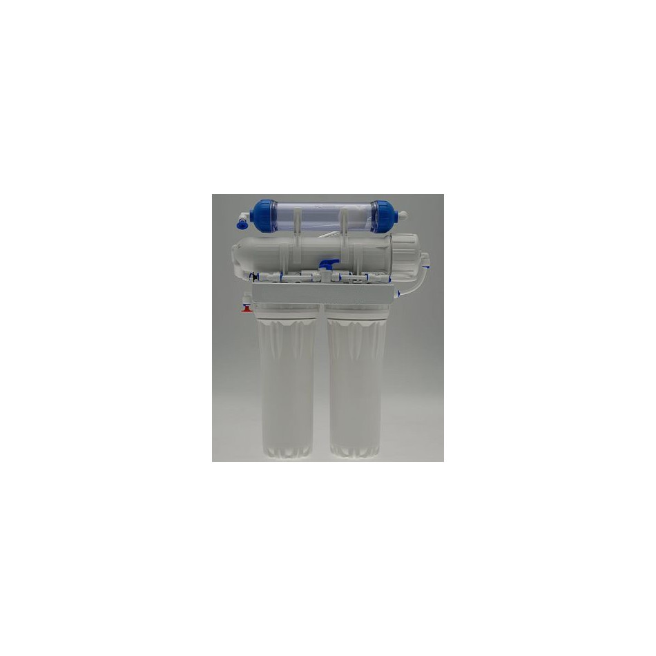 100 G D 4 Stage Reverse Osmosis System With Refillable Di